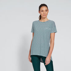 Dipped Tee  IVY STRIPE  hi-res