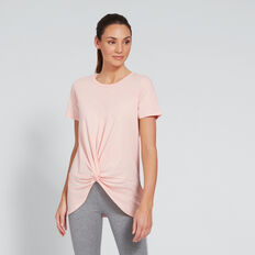 Twist Tee  SUNSET PINK  hi-res
