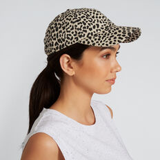 Sports Leisure Cap  BROWN ANIMAL  hi-res