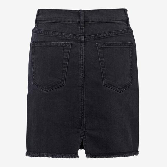 Denim Midi Skirt  CHARCOAL  hi-res