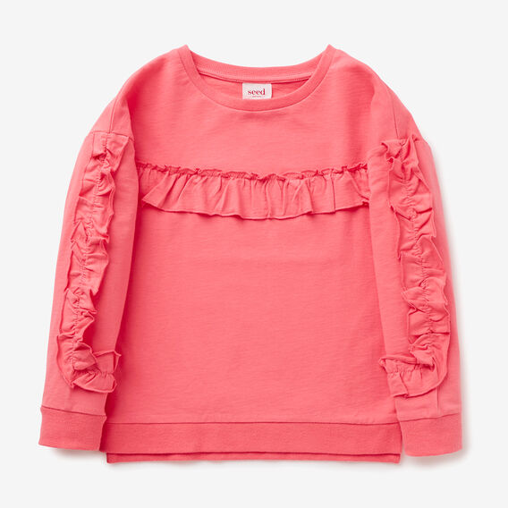 Frill Windcheater  RASPBERRY FIZZ  hi-res