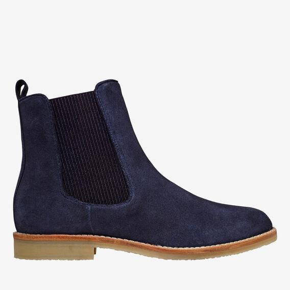 Arlo Flat Gusset Boot  NAVY  hi-res
