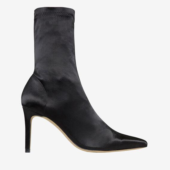 Rose Point-Heeled Boot  BLACK  hi-res