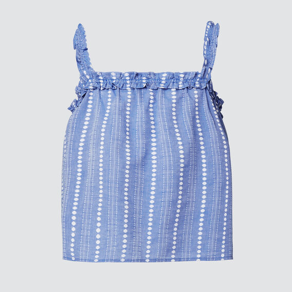 Handloom Top  SKY BLUE  hi-res