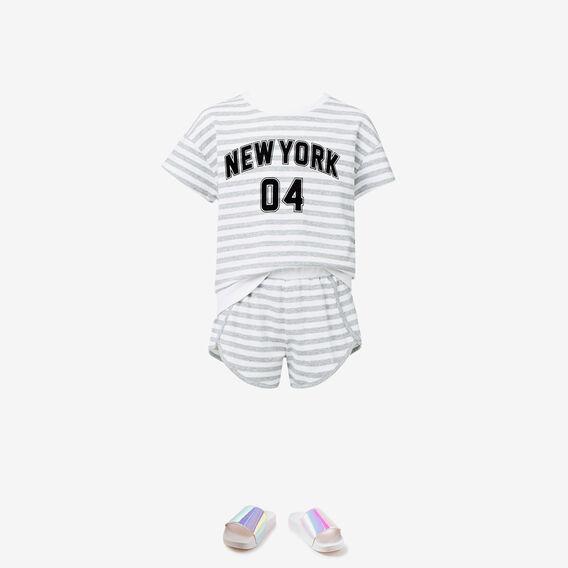 New York Sweat  SPECKLE GREY  hi-res
