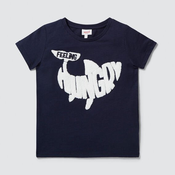 I'm Hungry Tee  MIDNIGHT BLUE  hi-res