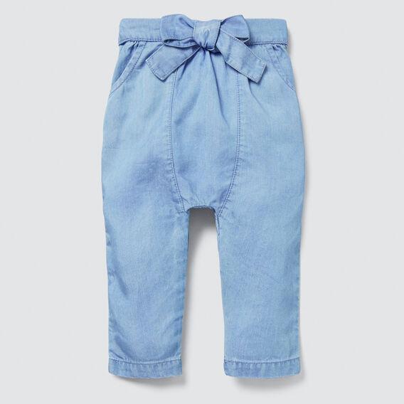Harem Pants  SOFT BLUE WASH  hi-res
