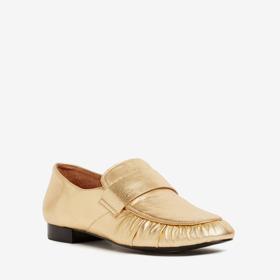 Chiara Metallic Loafer  GOLD  hi-res