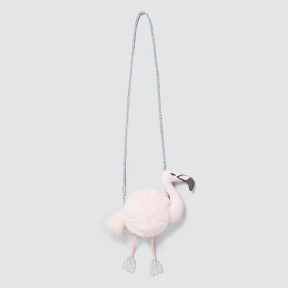 Fluffy Flamingo Bag  ICE PINK  hi-res