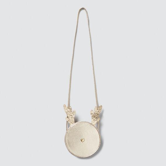Metallic Reindeer Bag  GOLD  hi-res