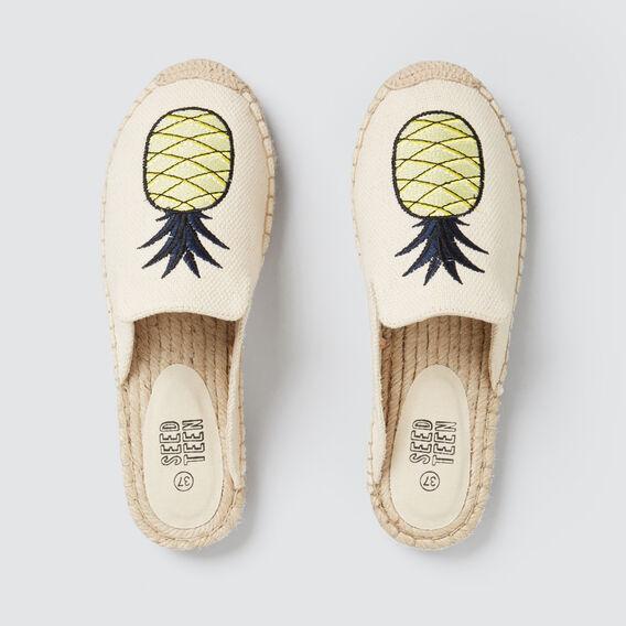 Pineapple Espadrille  CANVAS  hi-res