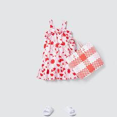 Stripe Floral Dress  MULTI  hi-res