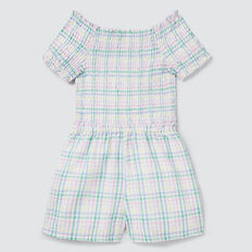 Gingham Playsuit  MULTI  hi-res