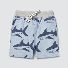 Shark Yardage Short  BRIGHT CHAMBRAY  hi-res