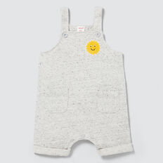 Sun Patch Short Overall  CLOUDY MARLE  hi-res