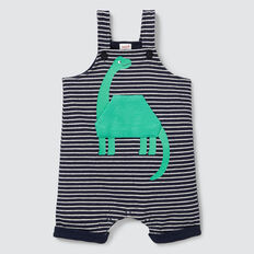 Dino Pocket Terry Overall  MIDNIGHT BLUE  hi-res