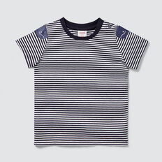 Whale Stripe Tee  MIDNIGHT BLUE  hi-res