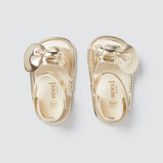 Bow Sandal  PALE GOLD  hi-res