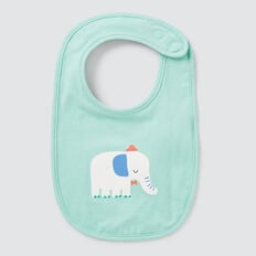 Elephant Bib  COOL MINT  hi-res