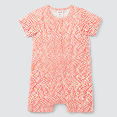 Mini Star Yardage Zipsuit  CORAL  hi-res