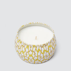 Small Candle  AMBER YELLOW  hi-res
