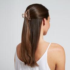 Shape Hair Clip  ROSE GOLD  hi-res