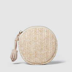 Circle Coin Purse  NATURAL  hi-res