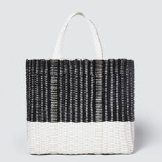 Leon Tote  BLACK/WHITE  hi-res