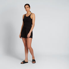 Rib Short  BLACK  hi-res