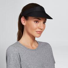 Sports Fashion Visor  BLACK  hi-res