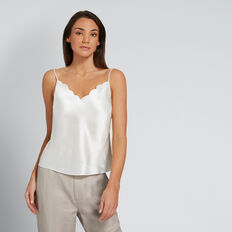 Scallop Edge Cami  CLOUD CREAM  hi-res