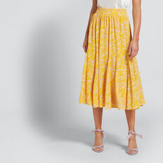 Full Floral Skirt  FLORAL  hi-res