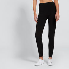 Seamless Legging  BLACK  hi-res
