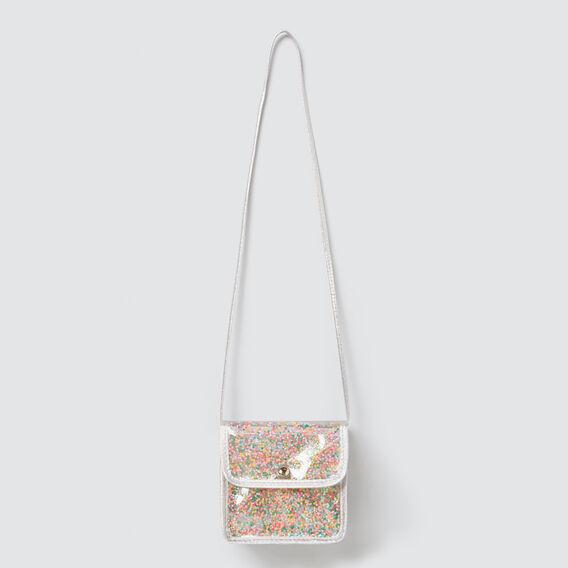 Confetti Star Bag  SILVER  hi-res