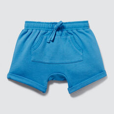 Roll Cuff Trackie Short  CORNFLOWER BLUE  hi-res