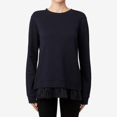 Spot Hem Sweater  DEEP NAVY  hi-res