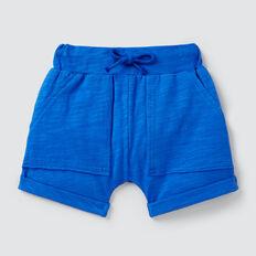 Slub Jersey Pocket Short  BRIGHT COBALT  hi-res