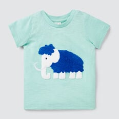 Chenille Mammoth Tee  COOL MINT  hi-res