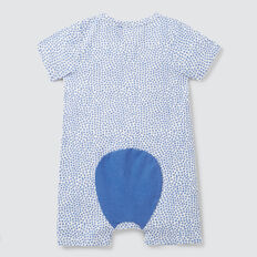 Mini Star Yardage Zipsuit  BRIGHT BLUEBELL  hi-res