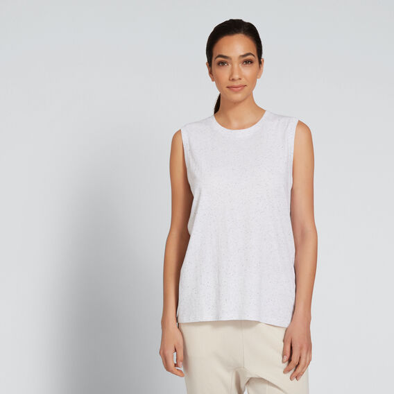 Asymmetric Tank  MOON SPECKLE  hi-res