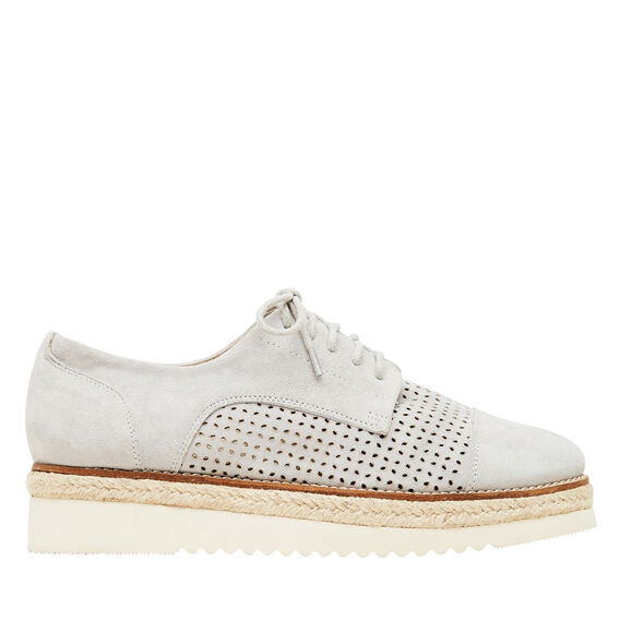 Marlowe Flatform Brogue  GREY  hi-res