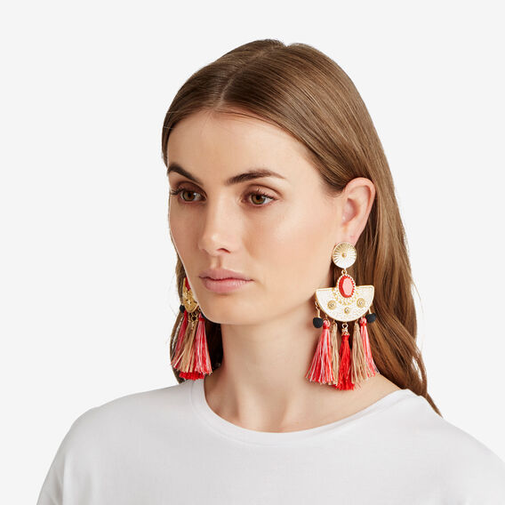 Mexicola Earrings  GOLD  hi-res