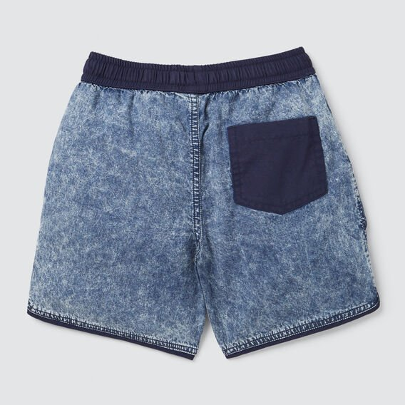 Runner Shape Short  ACID WASH  hi-res