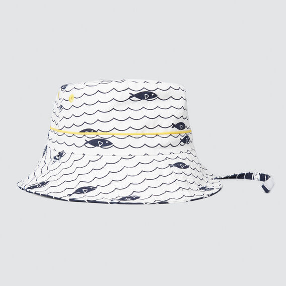 Fish Sun Hat  MULTI  hi-res