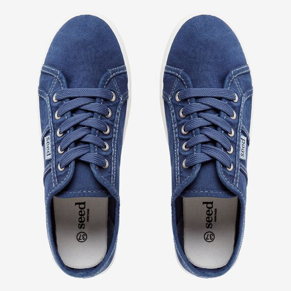Billie Flatform Sneaker  NAVY  hi-res
