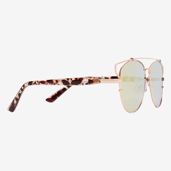 Wide Topbar Sunglasses  GOLD  hi-res