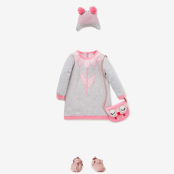 Daisy Knit Dress  CLOUD  hi-res