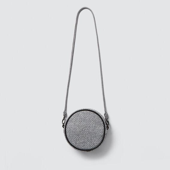 Perforated Circle Bag  GREY  hi-res