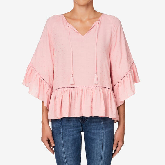 Tiered Blouse  BLOSSOM PINK  hi-res