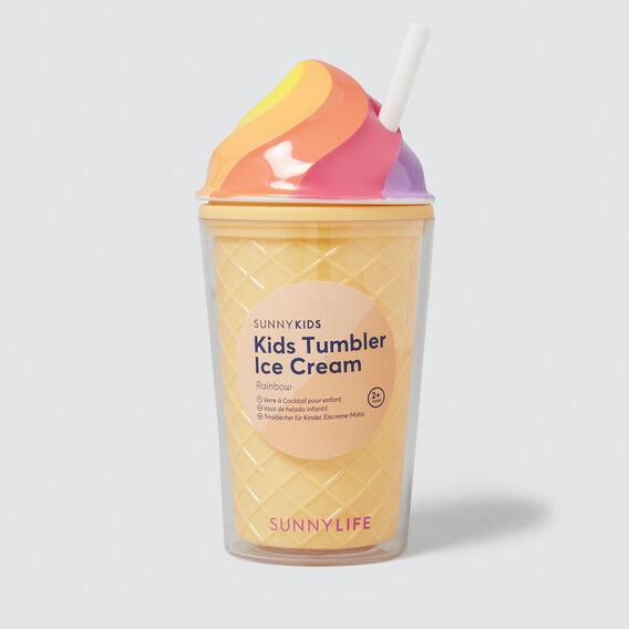 Rainbow Ice Cream Tumbler  RAINBOW  hi-res